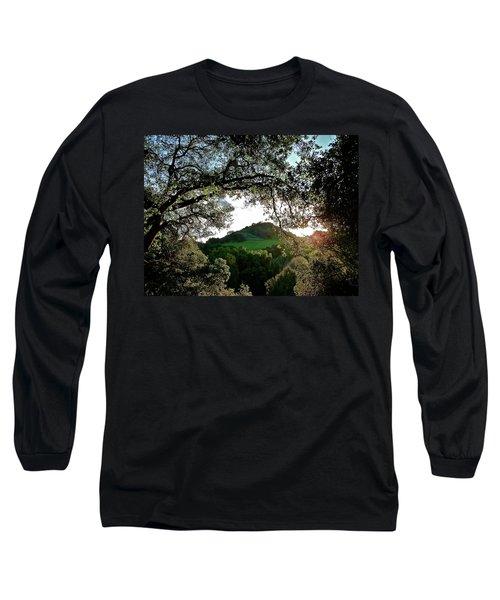A Distant Cross Long Sleeve T-Shirt