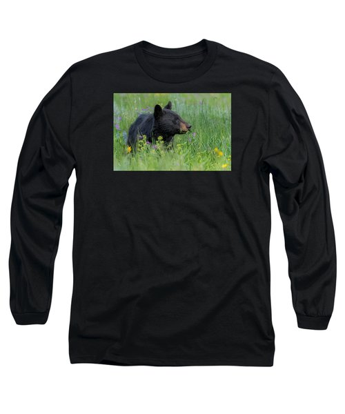 Long Sleeve T-Shirt featuring the photograph A Field Of Dreams by Yeates Photography