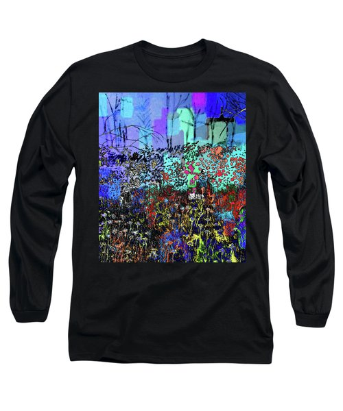 A Field Of Flowers Long Sleeve T-Shirt
