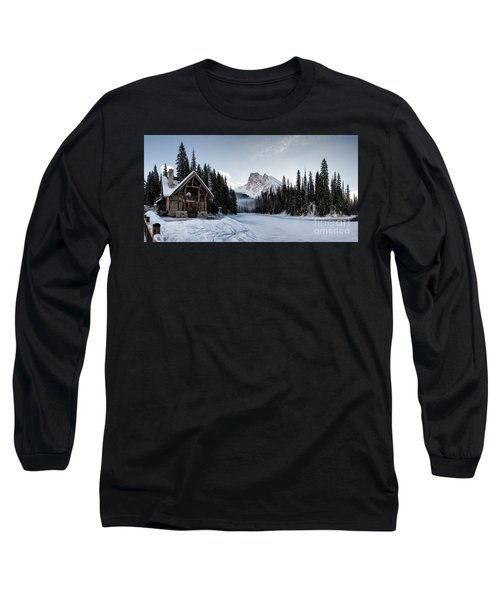 A Frozen Emerald Lake Morning Long Sleeve T-Shirt