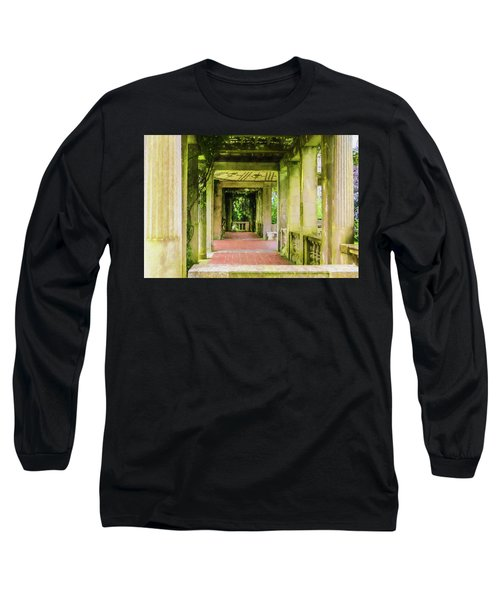 A Garden House Entryway. Long Sleeve T-Shirt