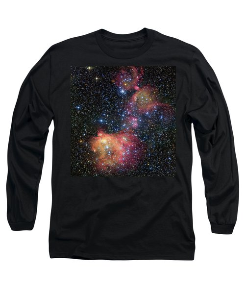 Long Sleeve T-Shirt featuring the photograph A Glowing Gas Cloud In The Large Magellanic Cloud by Eso