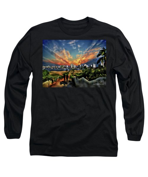 A Great Day In Salinas, Ecuador Long Sleeve T-Shirt