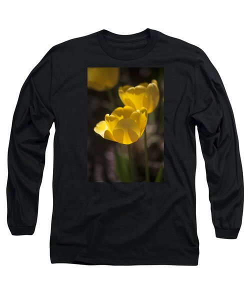 A Happy Spring Moment Long Sleeve T-Shirt by Morris  McClung