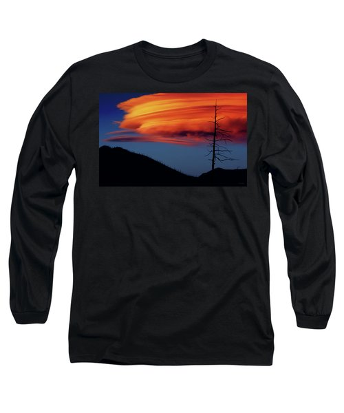 A Haunting Sunset Long Sleeve T-Shirt