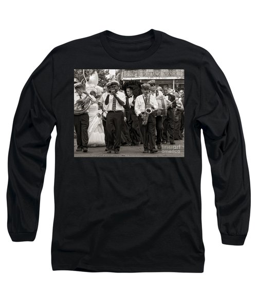 A Jazz Wedding In New Orleans Long Sleeve T-Shirt
