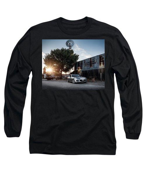 Little Drop Of Sunshine Long Sleeve T-Shirt by Douglas Pittman