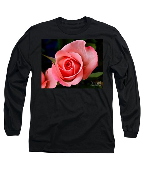 Long Sleeve T-Shirt featuring the photograph A Loving Rose by Sean Griffin