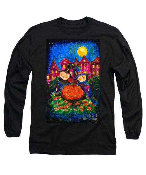 A Merry Halloween Long Sleeve T-Shirt