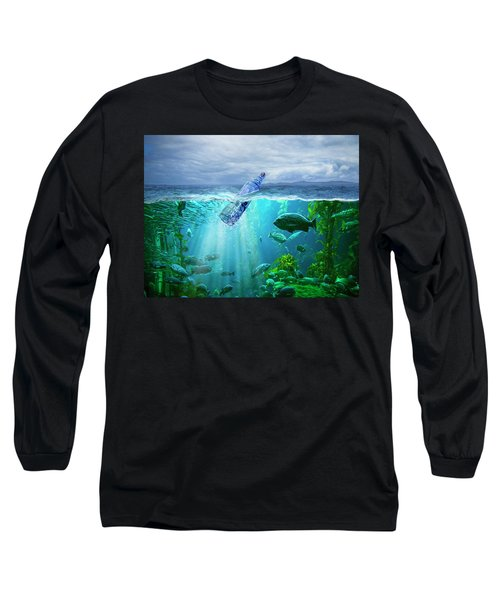 A Message In A Bottle Long Sleeve T-Shirt