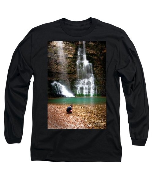 Long Sleeve T-Shirt featuring the photograph A Moment In Time by Tamyra Ayles