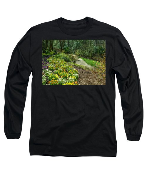 A Path Of Color Long Sleeve T-Shirt