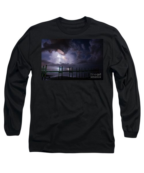 A Pier With A View Long Sleeve T-Shirt
