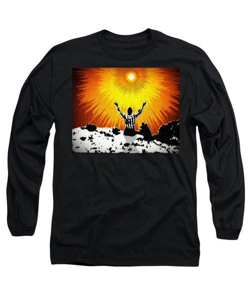Long Sleeve T-Shirt featuring the photograph A Place To Abandon Yourself by Glenn McCarthy Art and Photography