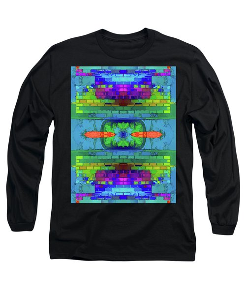 Long Sleeve T-Shirt featuring the digital art A Question Of Balance by Wendy J St Christopher