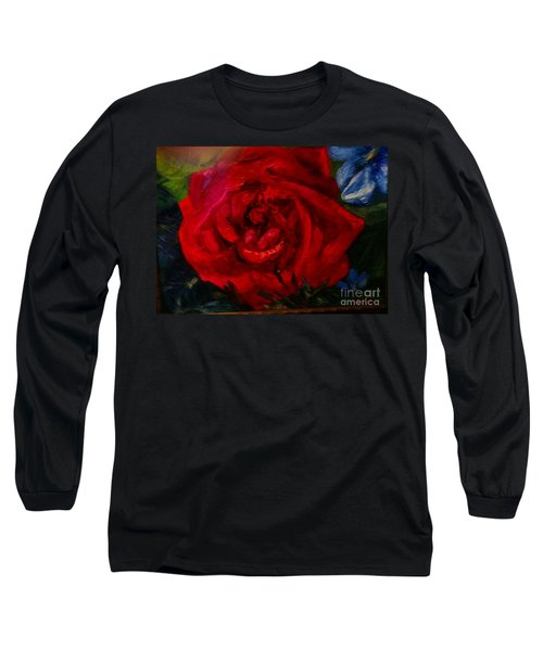 A  Rose Is Long Sleeve T-Shirt