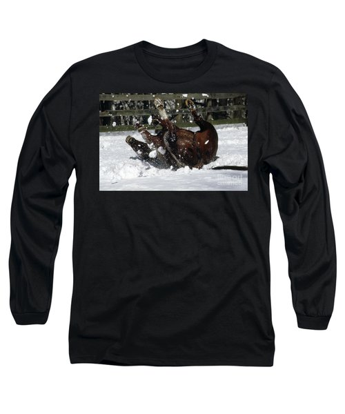 A Roll In The Snow Long Sleeve T-Shirt
