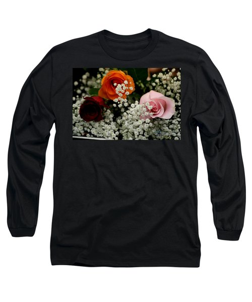 Long Sleeve T-Shirt featuring the photograph A Rose To You by Paul SEQUENCE Ferguson             sequence dot net