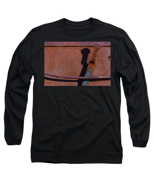 Long Sleeve T-Shirt featuring the photograph A Rusted Development II by Paul Wear