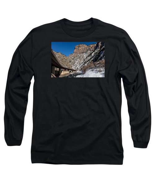 A Section Of The World-famous Glenwood Viaduct Long Sleeve T-Shirt by Carol M Highsmith