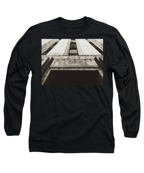 A Sign Of The Times - Vintage Long Sleeve T-Shirt by Mark David Gerson