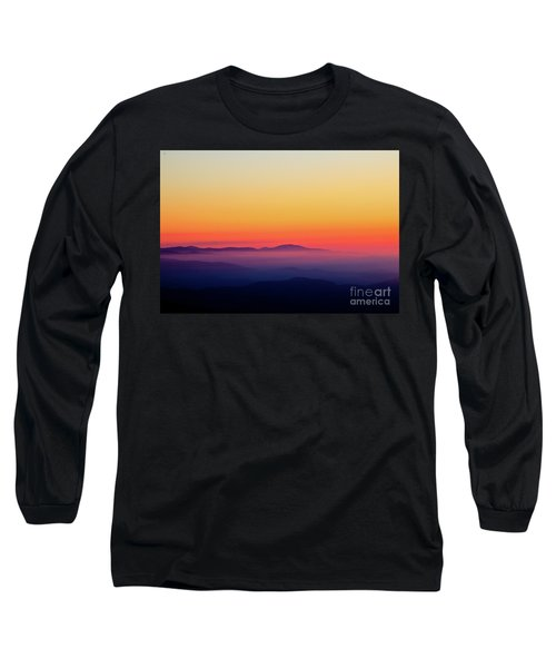 Long Sleeve T-Shirt featuring the photograph A Simple Sunrise by Douglas Stucky