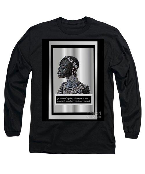 A Sisters Portrait Long Sleeve T-Shirt
