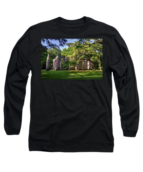 A Special Place Old Sheldon Church Ruins Long Sleeve T-Shirt
