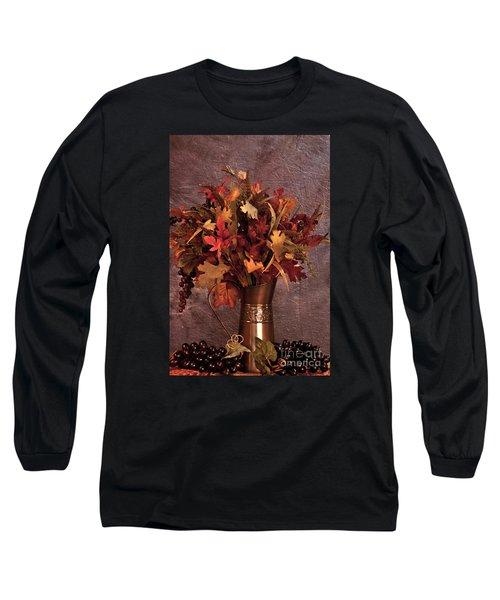 A Still Life For Autumn Long Sleeve T-Shirt by Sherry Hallemeier