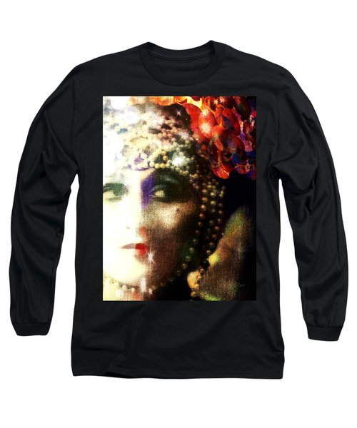 A String Of Pearls Long Sleeve T-Shirt