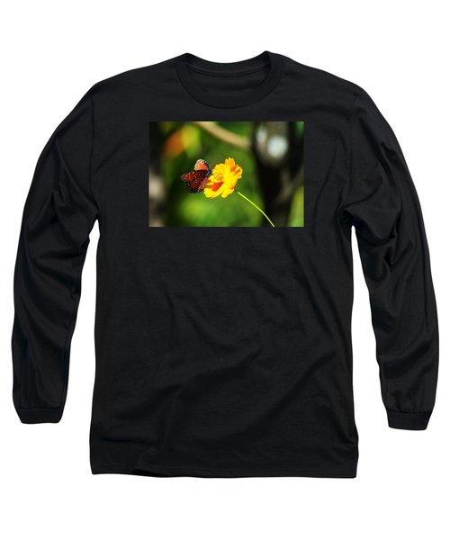 A Study In Orange And Yellow Long Sleeve T-Shirt