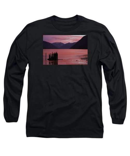 A Sublime September Sunset Long Sleeve T-Shirt by Stanza Widen