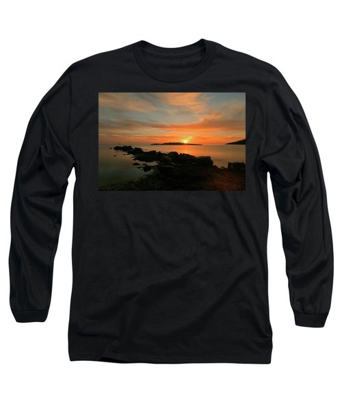 A Sunset In Ibiza Long Sleeve T-Shirt
