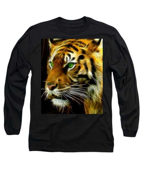A Tiger's Stare Long Sleeve T-Shirt