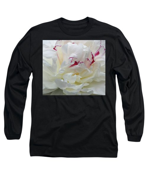 Long Sleeve T-Shirt featuring the photograph A Touch Of Color by Sandy Keeton