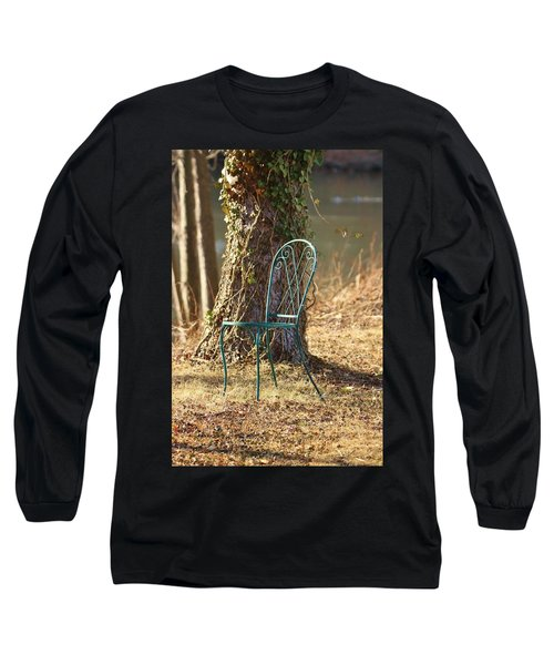 A Tranquil Place To Sit Long Sleeve T-Shirt