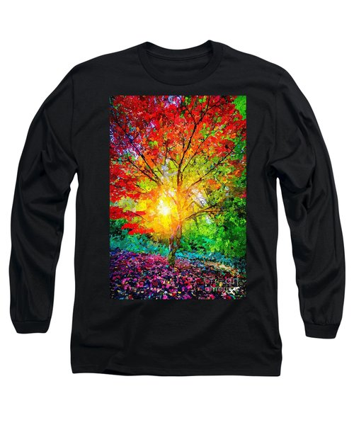 A Tree In Glory Long Sleeve T-Shirt
