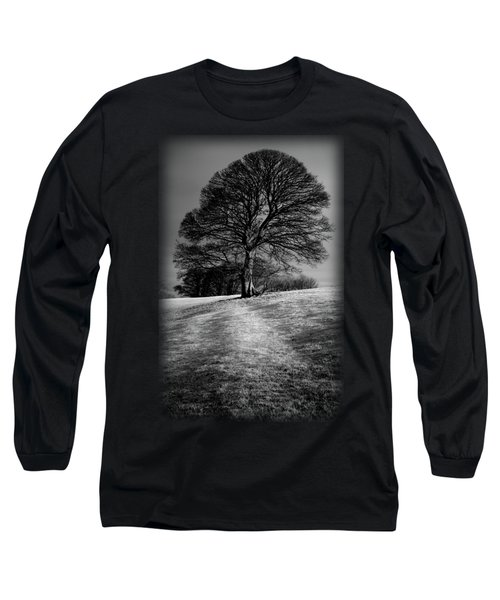 A Tree Shaped By The Wind Long Sleeve T-Shirt
