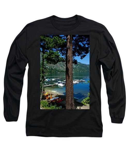 A Trees View Of Fallen Leaf Lake Long Sleeve T-Shirt