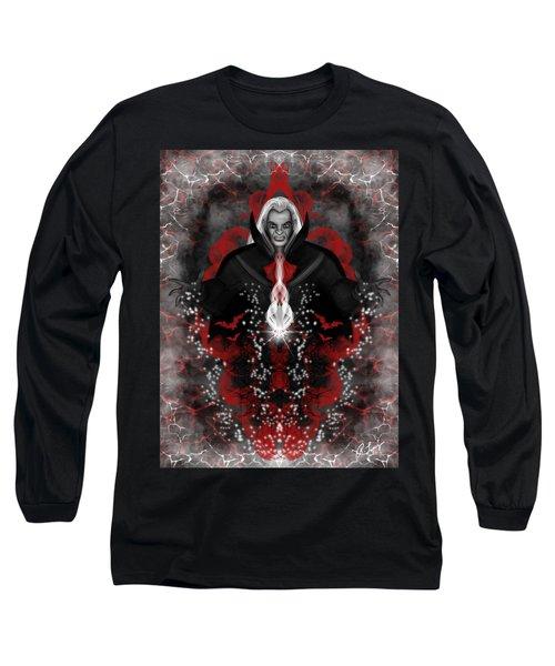 A Vampire Quest Fantasy Art Long Sleeve T-Shirt