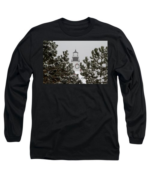 A View Of The Portland Head Light Long Sleeve T-Shirt