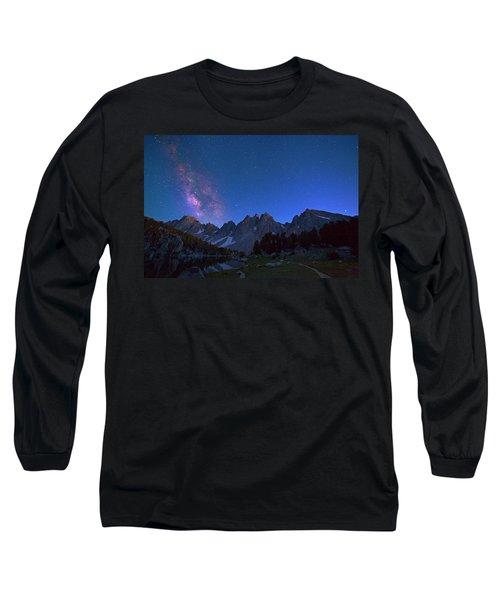 A Walk Beneath The Stars Long Sleeve T-Shirt