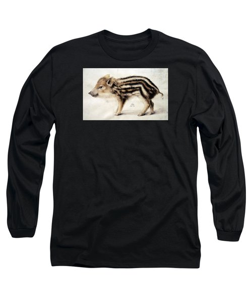 A Wild Boar Piglet Long Sleeve T-Shirt