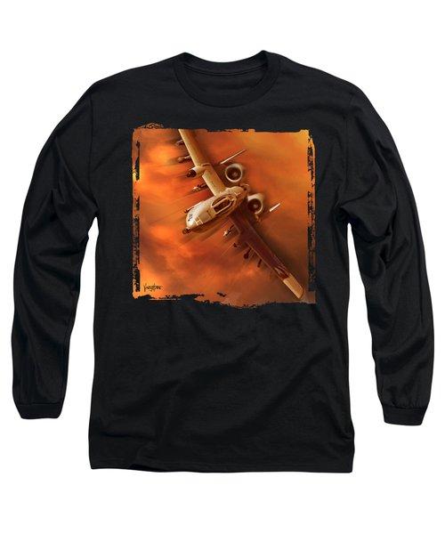 A10 Warthog Long Sleeve T-Shirt