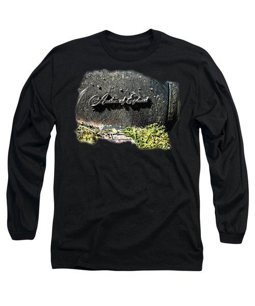 A40 Somerset Car Badge Long Sleeve T-Shirt by Nick Kloepping