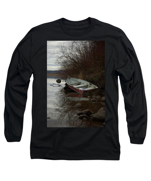 Abandoned Boat Long Sleeve T-Shirt