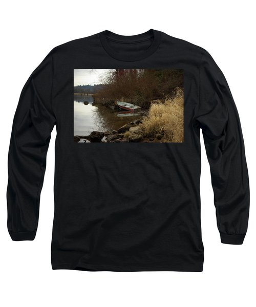 Abandoned Boat II Long Sleeve T-Shirt