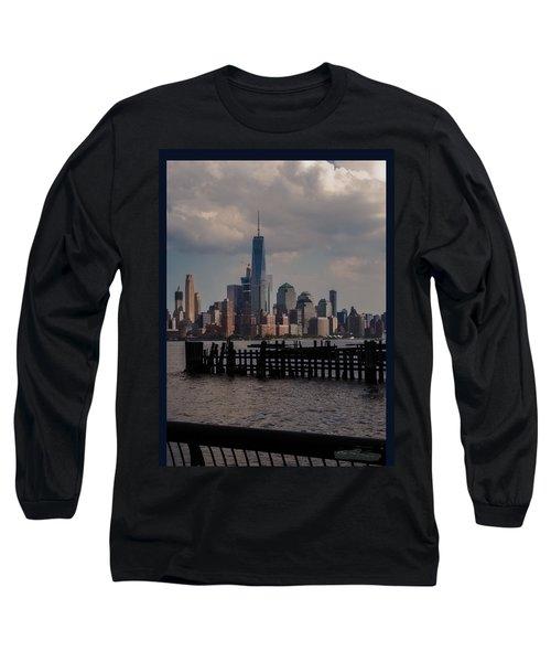 Abandoned Hoboken Pier Long Sleeve T-Shirt