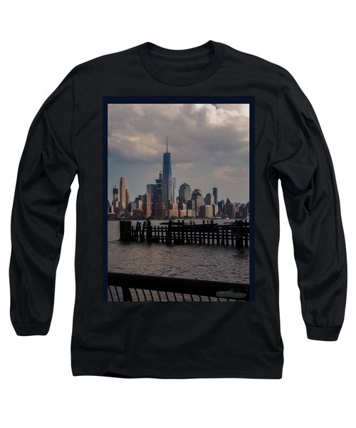 Abandoned Hoboken Pier Long Sleeve T-Shirt