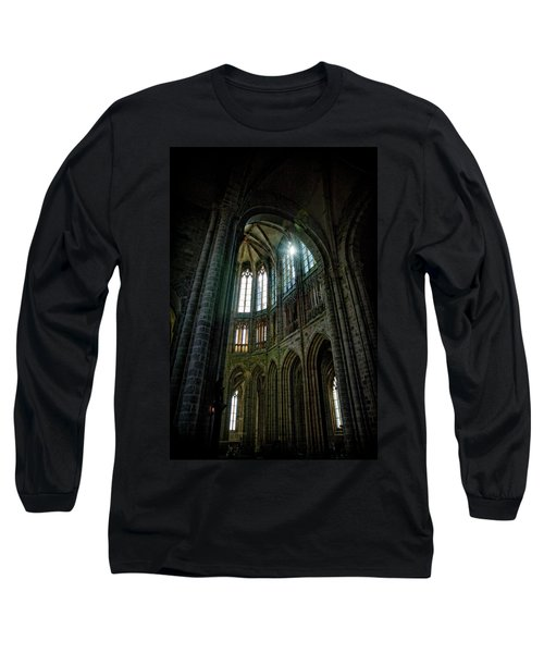 Abbey With Heavenly Light Long Sleeve T-Shirt